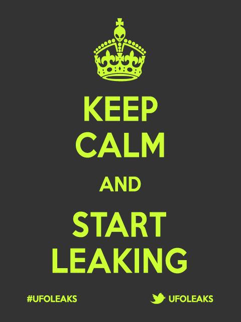 Ufoleaks: Keep calm and start leaking
